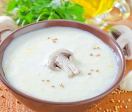 mushroom soup Stock Photo - 20016891