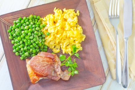 cow pea: lunch