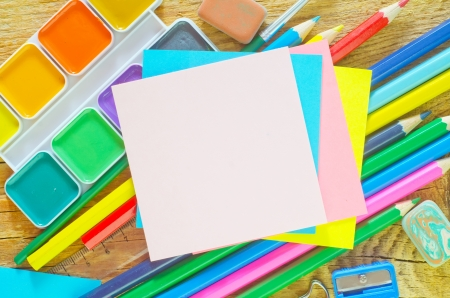 school supplies Stock Photo - 20076382