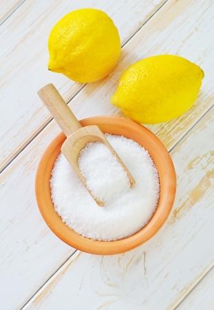 citrate: acid and lemons
