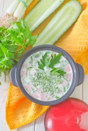 cold soup Stock Photo - 20215849