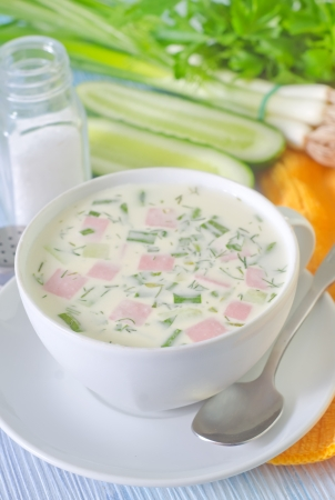 cold soup Stock Photo - 20215779