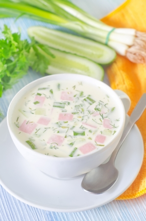 cold soup Stock Photo - 20215777