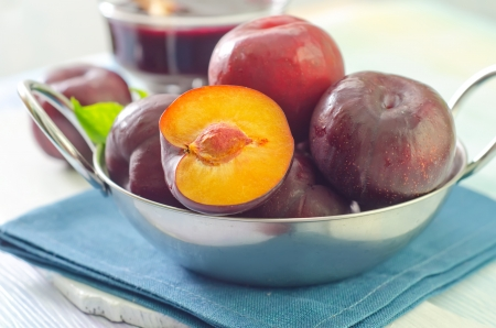 yellows: plums