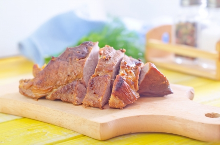 baked meat Stock Photo - 20509006