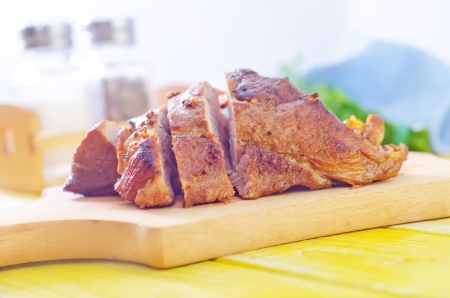 baked meat Stock Photo - 20507595
