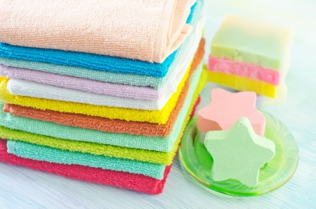 absorb: color towels