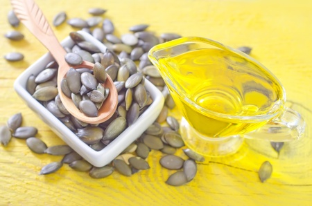 pumpkin seed and oil