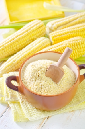 corn flour photo