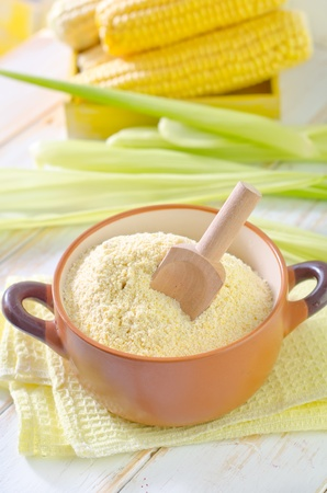 corn flour photo