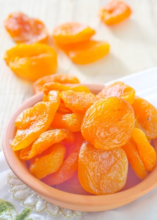 dried apricots photo