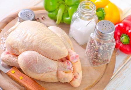 carne de pollo: pollo