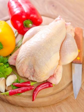 닭고기와 야채 스톡 콘텐츠