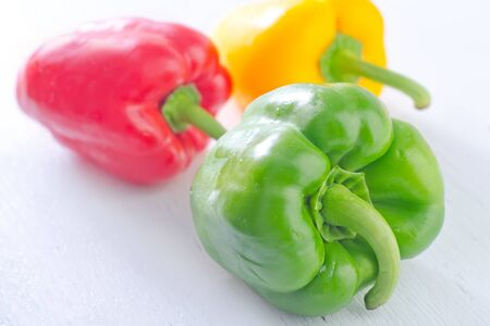 color peppers Stock Photo - 20837652