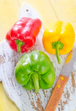 color peppers Stock Photo - 20837654