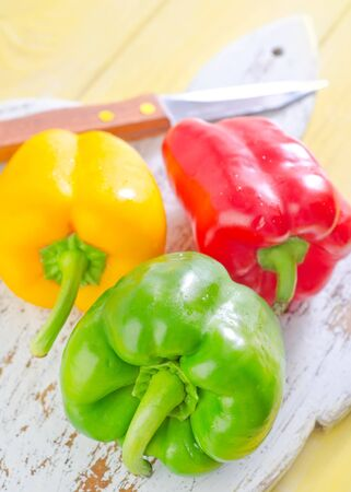 color peppers Stock Photo - 20837655