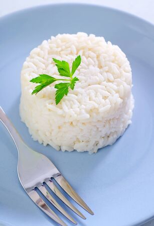 boiled rice photo