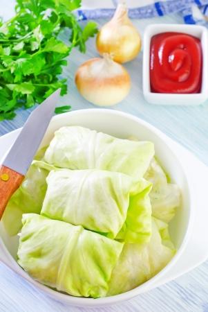 savoy cabbage: dolma