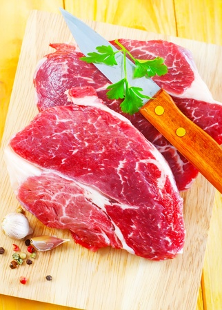 raw meats photo