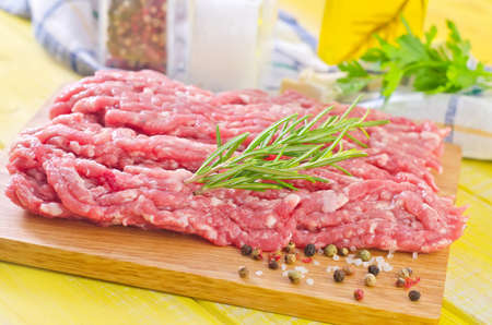 minced meats