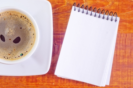 coffee and note photo