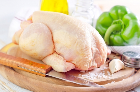 aves de corral: pollo