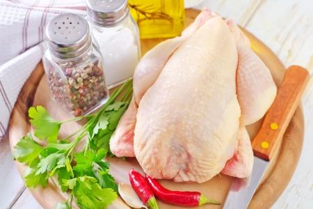 whole chicken: chicken