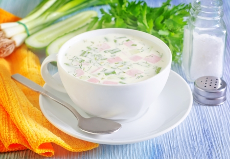 cold soup Stock Photo - 21329981