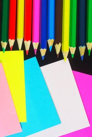 bene: color sheets for note and pencil