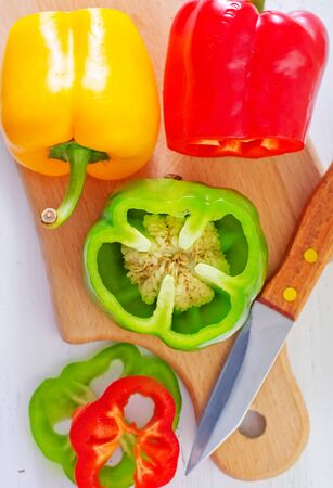 color pepper Stock Photo - 21406600