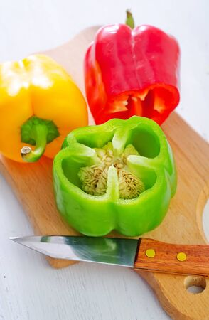 color pepper Stock Photo - 21406601
