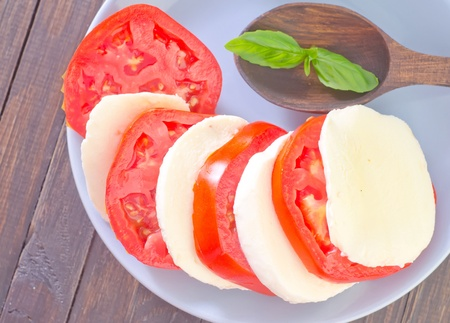 mozzarella � la tomate photo