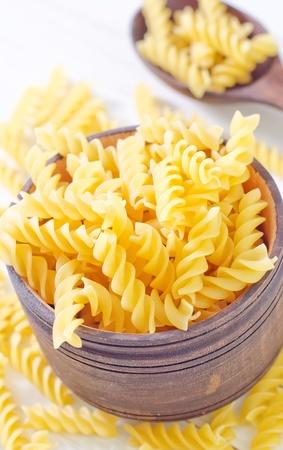 raw pasta photo