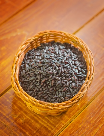 black rice photo