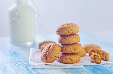 cookies and milk photo
