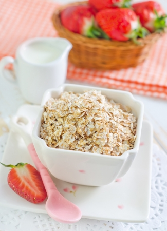 free plate: oat flakes