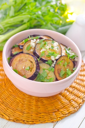 fried eggplant photo