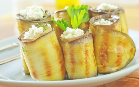 rolls with cheese Imagens