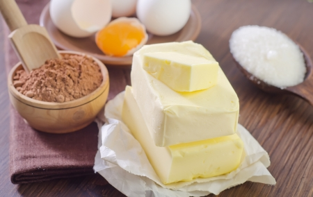 ingredients for brownie photo