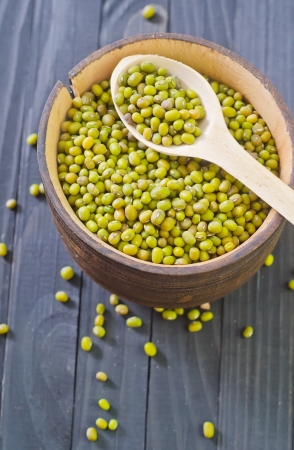 agricultu: mung beans Stock Photo
