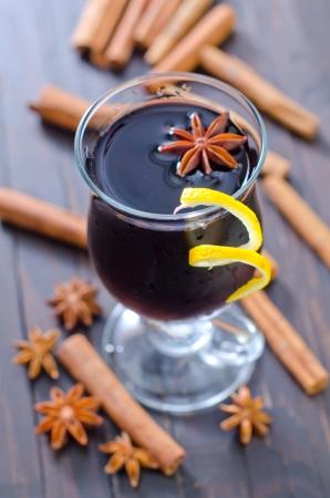 glint: vino brillo Foto de archivo