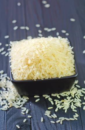 raw rice photo