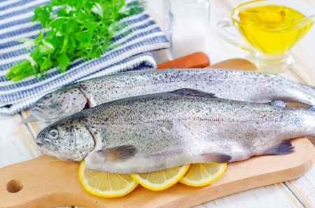 raw fish Stock Photo - 22307816