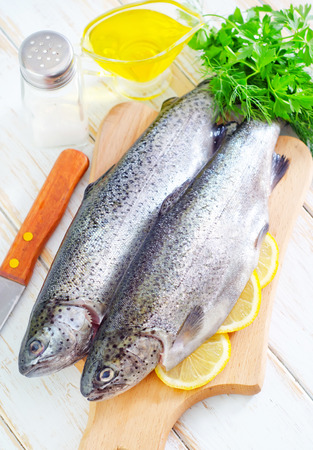 raw fish Stock Photo - 22307818