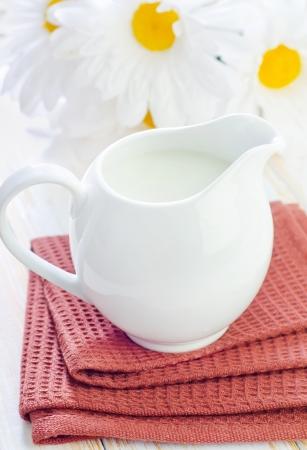 lactation: fresh milk