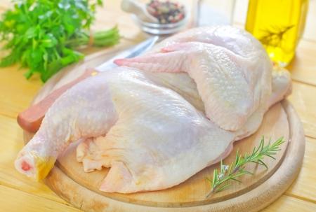 raw chicken photo