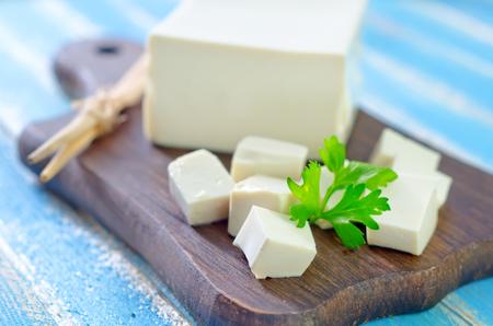 tofu: tofu cheese Stock Photo