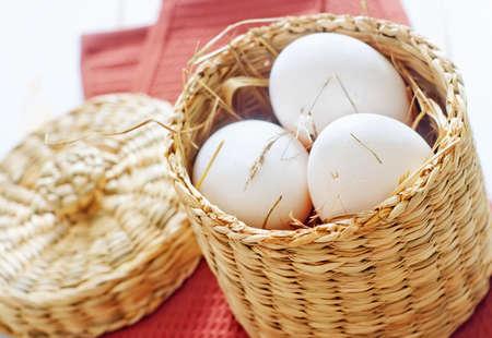 raw eggs photo