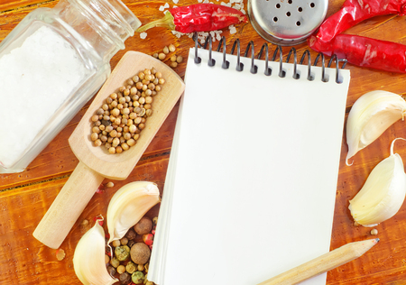 spice and note Stock Photo - 22517773