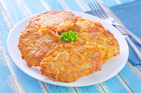 potato pancakes photo